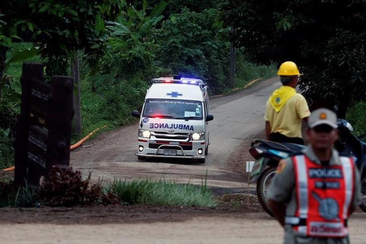 Niños rescatados en Tailandia no asistirá a la final