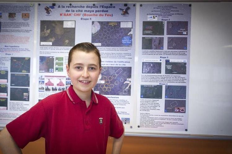 William Gadoury ha puesto en qué pensar a la comunidad científica sobre la ubicación de las ciudades mayas. (Foto Prensa Libre: Tomada de Journal de Montréal, Martin Chevalier)