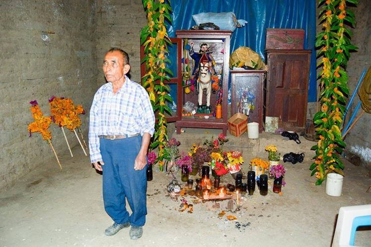 Lugar donde ocurrió el robo en Cubulco, Baja Verapaz. (Foto Prensa Libre: Carlos Grave)