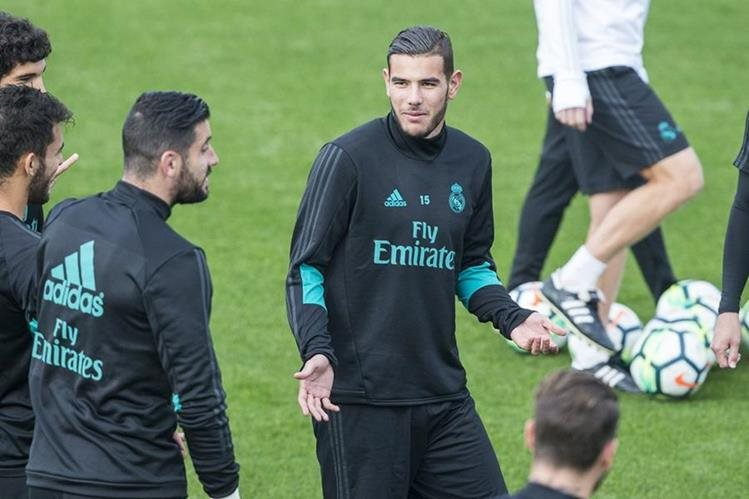 Theo es una de las recientes incorporaciones del Real Madrid de Zinedine Zidane. (Foto Prensa Libre: EFE)