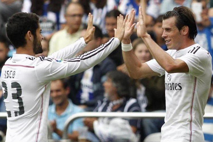 Isco Alarcón y Gareth Bale son el sano problema que tiene Zinedine Zidane de cara a la final de la Champions en Cardiff el 3 de junio. (Foto Prensa Libre: Hemeroteca)