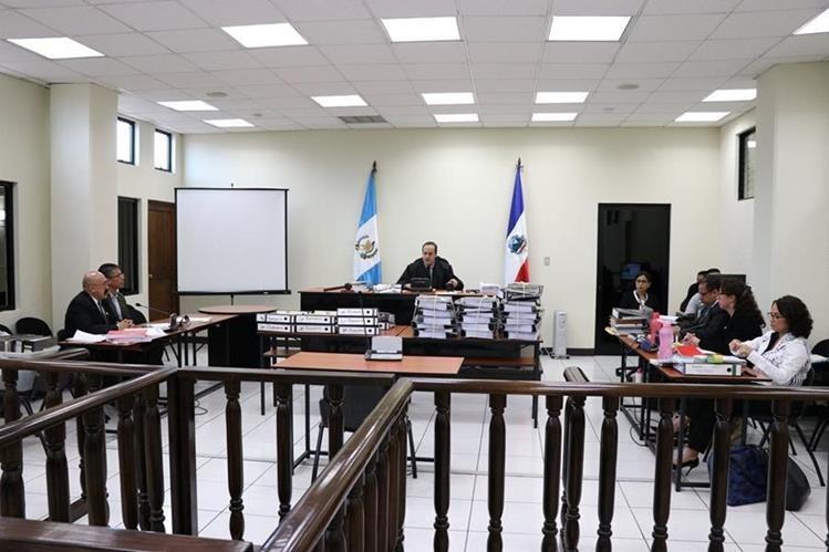 Lester Castellanos fue recusado por parte de la Cicig, en caso contra exfutbolista. (Foto María José Longo)