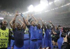 Francia consiguió su primera goleada en la Eurocopa 2016. (Foto Prensa Libre: AP)