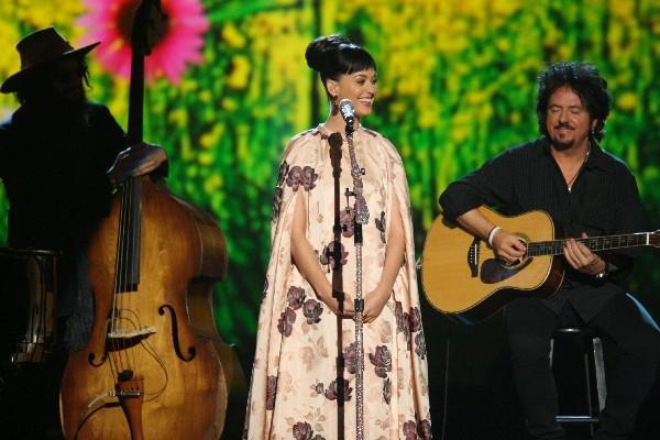 <p>Katty Perry será una de las celebridades que estarán en el concierto homenaje a The Beatles. (Foto Prensa Libre: AP)</p>
