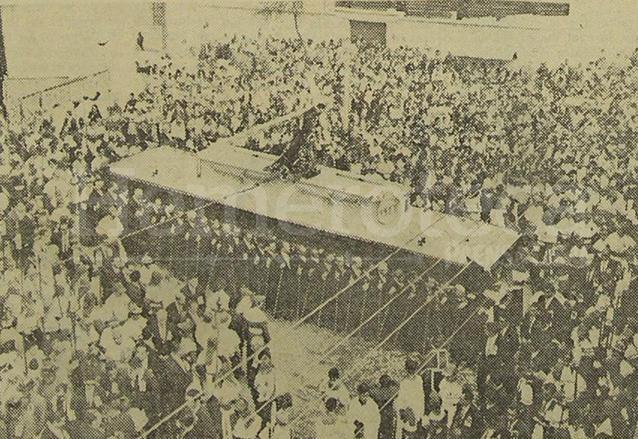 Procesión del Jueves Santo de 1967. (Foto: Hemeroteca PL)