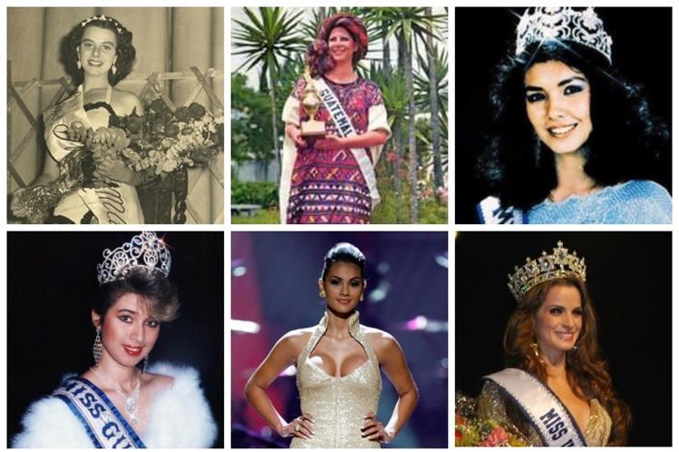 Varias han sido las reinas de belleza que han destacado en Miss Universo. (Foto Prensa Libre: Hemeroteca PL)