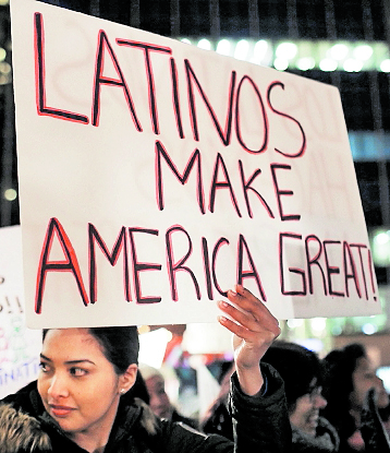 Los decretos de Trump han causado preocupación en la comunudad latina. (Foto: Hemeroteca Pl)