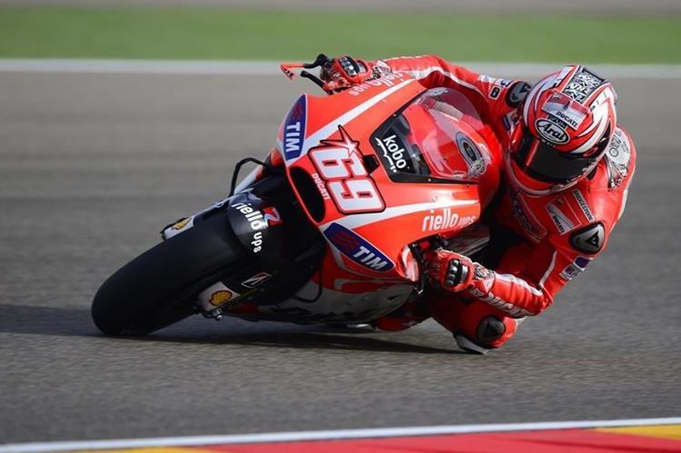 El piloto estadounidense Nicky Hayden, campeón del mundo de MotoGP en 2006, falleció como consecuencia de las heridas que sufrió tras ser atropellado. (Foto Prensa Libre: AFP).