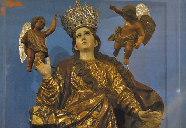 fervor mariano en torno a la asunción de la virgen
