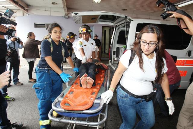 Las menores quemadas están internadas en los hospitales Roosevelt y San Juan de Dios. (Foto Prensa Libre: Hemeroteca PL)