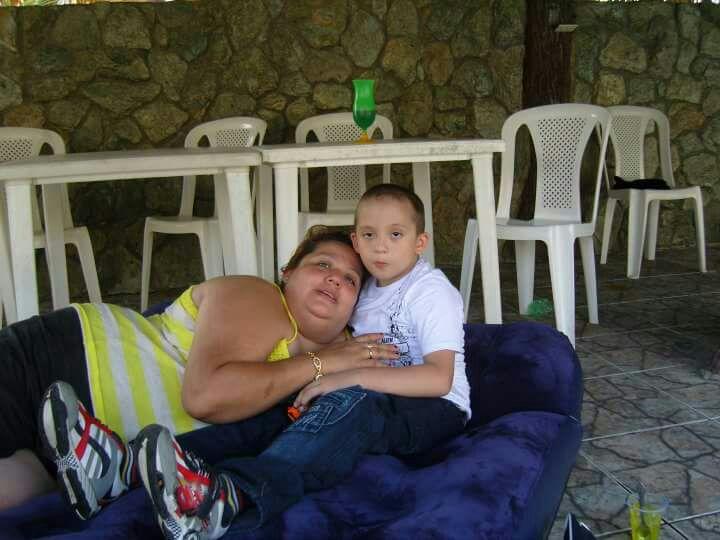 Nancy Ramírez asegura que ser madre es sinónimo de amor sincero, respeto, lucha y fortaleza.(Foto Prensa Libre: Esbin García)