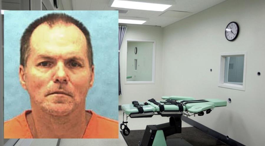 Mark Asay, de 53 años, fue ejecutado con un nuevo fármaco en Florida, EE.UU. (Foto Prensa Libre: AP)