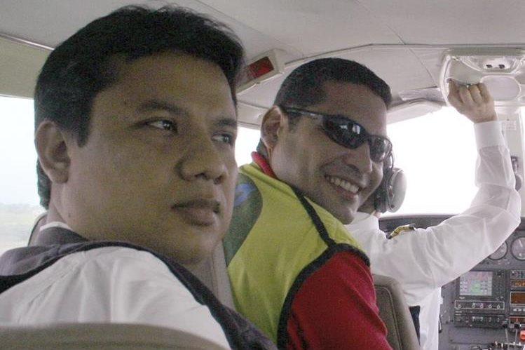 Los periodistas Diego D' Pablos (der.) y Carlos Melo fueron liberados el viernes. (Foto Prensa Libre: AP).