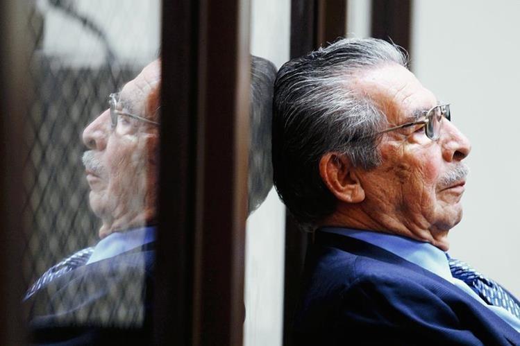 Efraín Ríos Montt cumple 91 años. (Foto Prensa Libre: Hemeroteca)