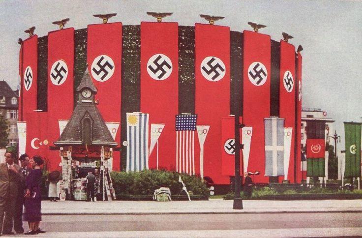 Las Olimpiadas de Berlín en 1936 fueron utilizadas por los Nazis para su propaganda. (Foto: Pinterest)