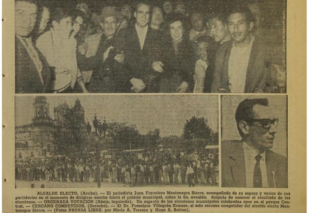 Aspectos de la Elección de Alcalde Municipal de 1962. (Foto: Hemeroteca PL)