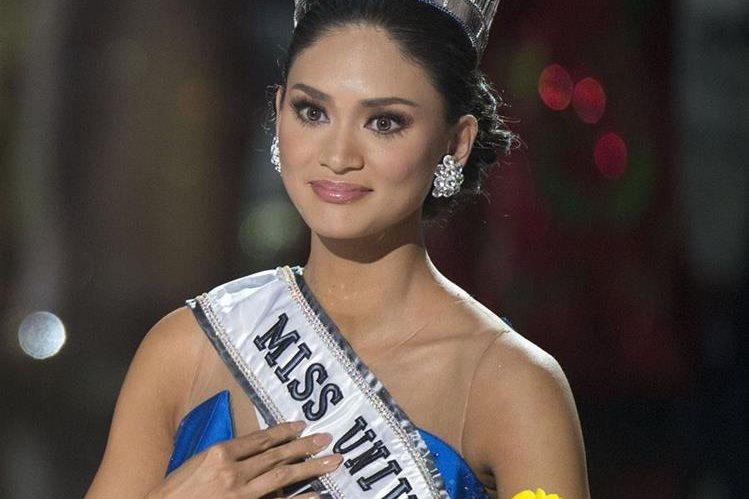 Pia Alonzo Wurtzbach rompió el silencio después de ser coronada Miss Universo. (Foto Prensa Libre AFP)