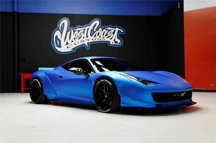 El auto que diseñó Justin Bieber busca dueño. (Foto Prensa Libre: Hemeroteca PL)