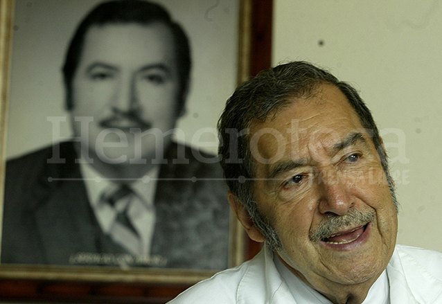 Don Guillermo Méndez Santizo nació el 7 de marzo de 1928. (Foto: Hemeroteca PL)