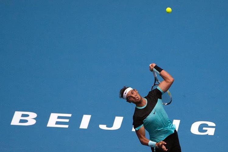 Nadal sigue con buen ritmo en el Torneo Abierto de Tenis de Pekín. (Foto Prensa Libre: AP)