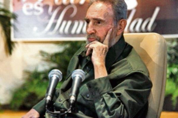 El líder cubano Fidel Castro se pronunció en contra de las declaraciones de Obama. (Foto Prensa Libre: Hemeroteca PL).