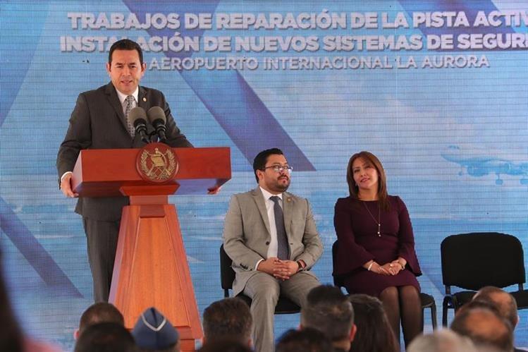 Las declaraciones de Jimmy Morales contra la prensa causaron señalamientos por parte de la PDH y la APG. (Foto Prensa Libre: HemerotecaPL)