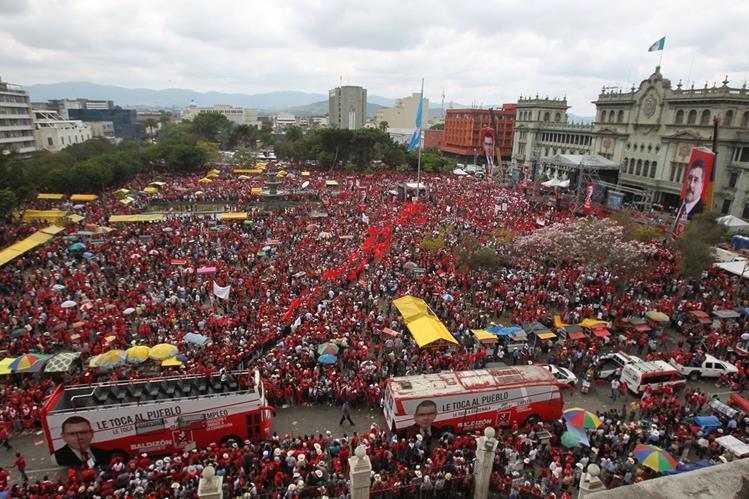 Cinco partidos políticos pidieron este lunes la cancelación del partido Líder por irrespetar la Ley Electoral. (Foto Prensa Libre: Hemeroteca PL)