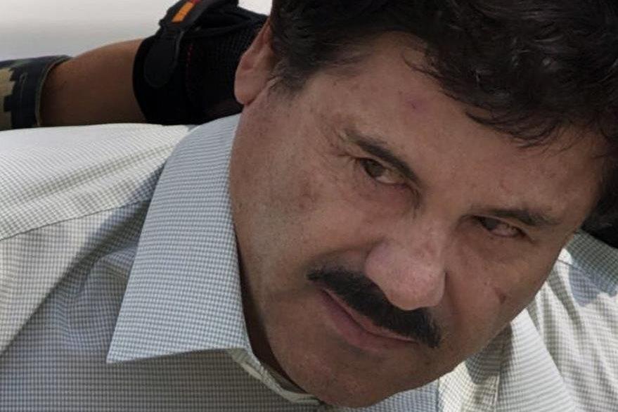 """Joaquín el """"Chapo"""" Guzmán es sindicado de trasegar droga hacia EE. UU. país que pide su extradición. (Foto Prensa Libre: AP)."""