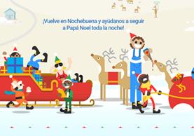 """""""Sigue a Papá Noel"""" ofrece juegos y servicios para disfrutar la Navidad (foto Prensa Libre: Google)."""