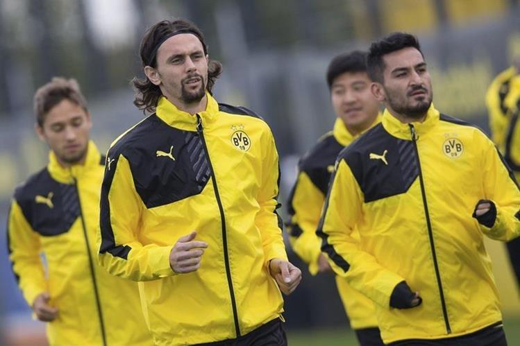 Previo a la jornada del fin de semana en la Liga local el Dortmund se mide contra el FK Krasnodar en la Europa League. (Foto Prensa Libre: EFE)