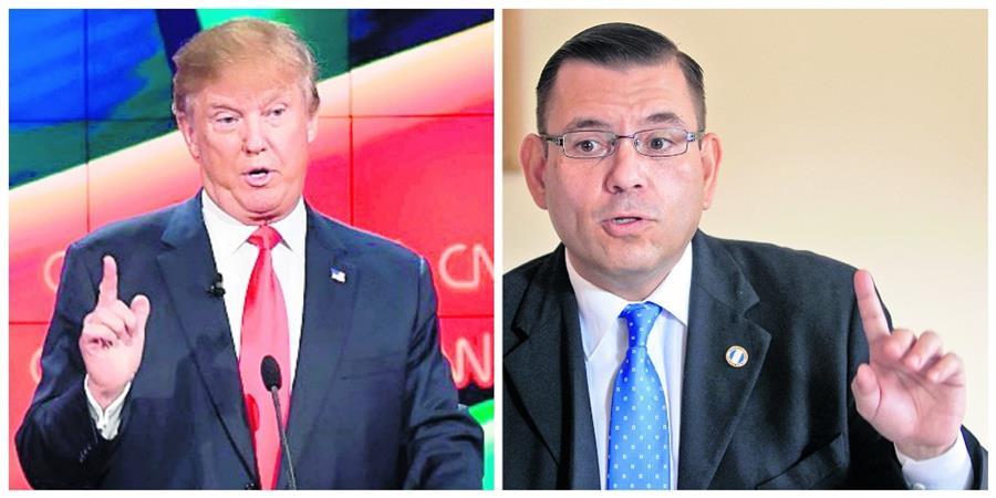 Dos estadounidenses que trabajan las campañas políticas de Donal Trump y Ted cruz, asesoraron la campaña de Manuel Baldizón. (Foto Prensa Libre: Hemeroteca PL)