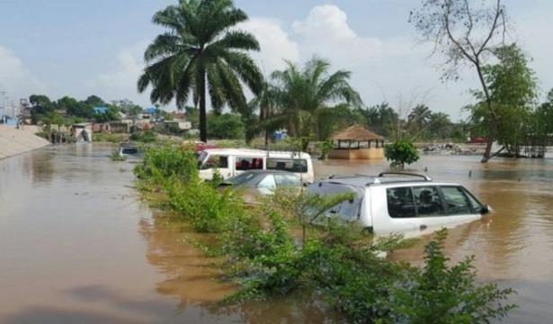 Inundaciones dejan al menos 50 muertos en República Democrática del Congo. (Foto Prensa Libre: Twitter)