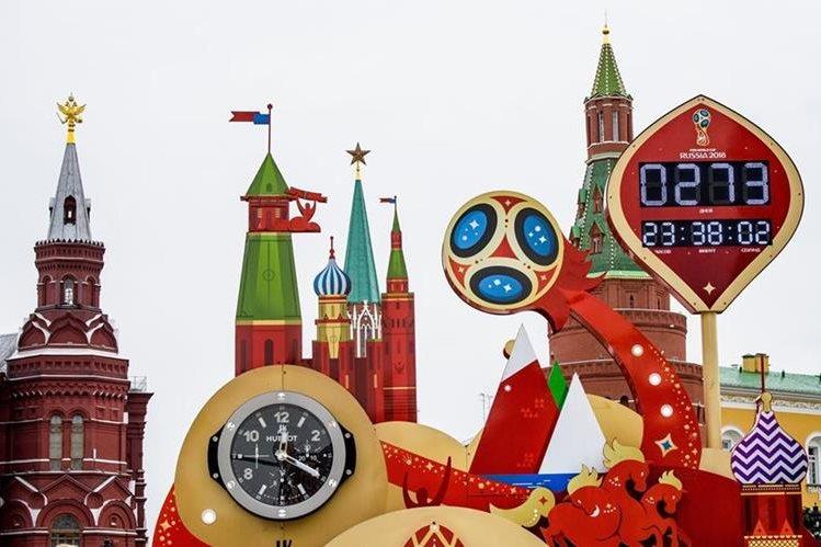 El Kremlin será la sede del sorteo en el que se determinarán los grupos para el Mundial de Rusia 2018. (Foto Prensa Libre: AFP)