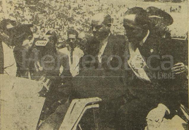 Toma de posesión de Ydígoras Fuentes el 2 de marzo de 1958. (Foto: Hemeroteca PL)
