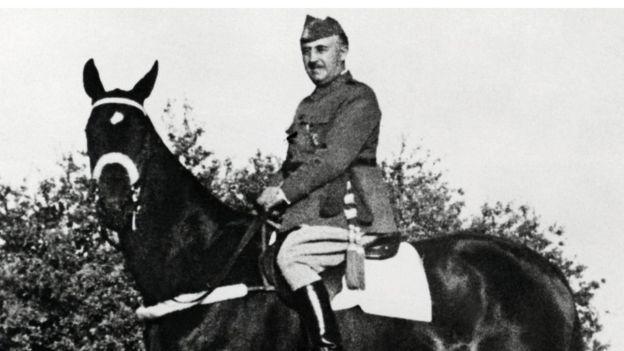 El general Francisco Franco gobernó España durante casi cuatro décadas. (AFP)