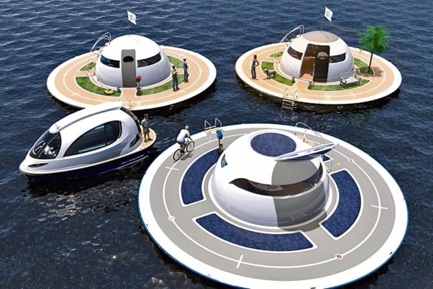 La casa subacuática está diseñada para las aguas costeras pero puede adaptarse a las condiciones del mar agitado.