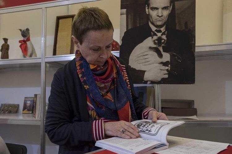 La lingüista rusa Galina Ershova es directora del Centro de Epigrafía Maya Yuri Knorosov de Mérida, Yucatán.(Foto Prensa Libre: EFE)