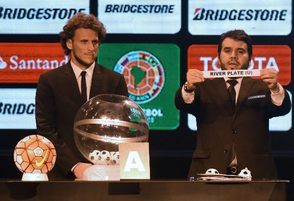 El campeón River Plate quedó en el Grupo 1. (Foto Prensa Libre: AFP)