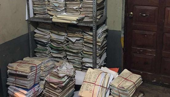 Las estancias de la PNC se encuentran en abandono, según confirmó la PDH. (Foto Prensa Libre: PDH)