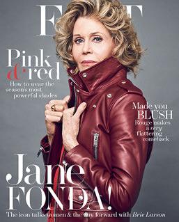 La actriz es portada de la edición de marzo de la revista The Edit. (Foto Prensa Libre: @NETAPORTER)