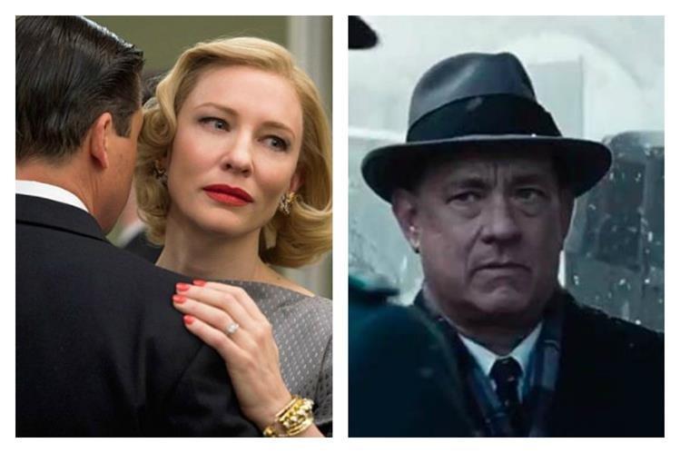 Los filmes Carol y Puente de espías, tienen 9 postulaciones en los premios BAFTA. (Foto Prensa Libre: Hemeroteca PL)