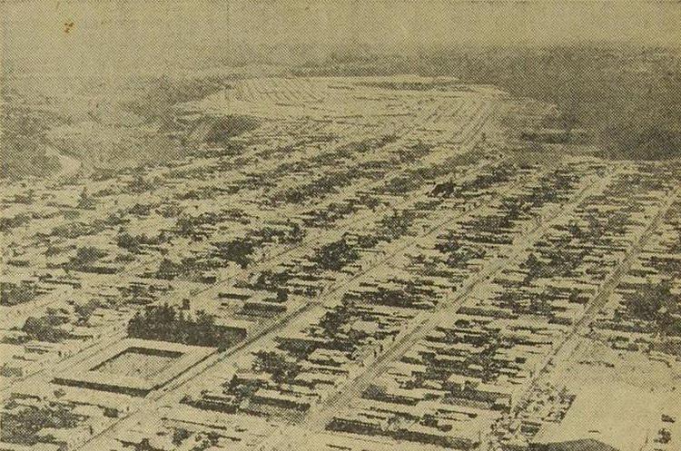 Fotografía de 1970, de lo que hoy es la zona 19 de la capital. (Foto Prensa Libre: Hemeroteca PL)