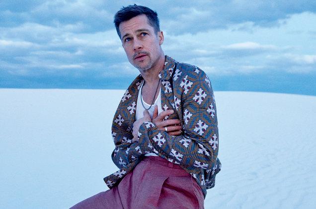 Brad Pitt confesó recientemente que sus problemas con el alcohol fueron la causa de su separación. (Foto Prensa Libre: GQ).