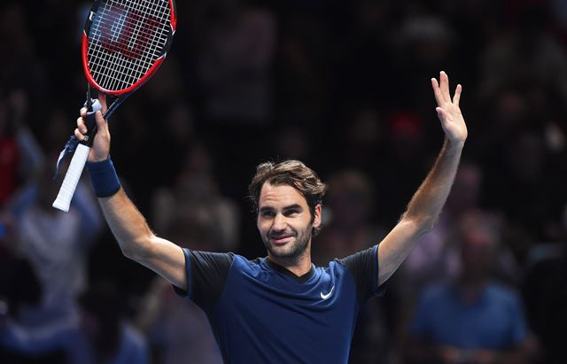 Roger Federer ganó y se enfrentará a Djokovic. (Foto Prensa Libre: EFE)