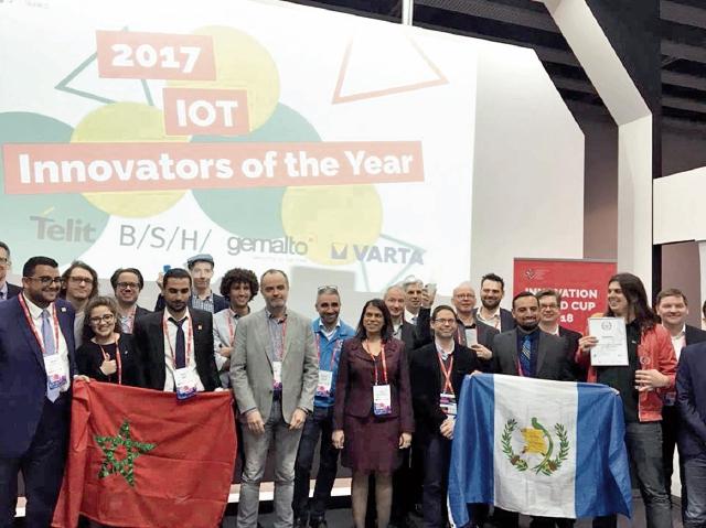 Jorge Sandoval y Edwin Kestler concluyeron su participación como finalistas en el Mobile World Congress, en España.