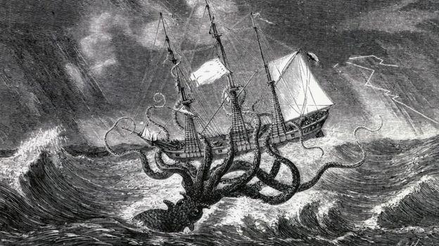 Los calamares gigantes no son comunes en el Mediterráneo. ALAMY