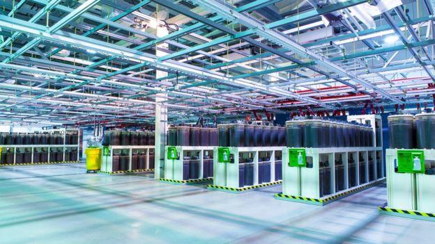 Tata Communications posee el 25% de las rutas de internet del planeta. Esta es la estación de amarre de los cables que la compañía tiene en Reino Unido. TATA COMMUNICATIONS