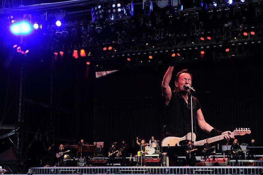 Bruce Springsteen interpretará temas de su álbum The River. (Foto Prensa Libre: AFP)