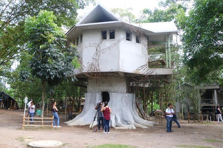 En el nuevo parque se podrá atender a 5 mil usuarios y hospedar a 400 personas. (Foto Prensa Libre: Rolando Miranda)