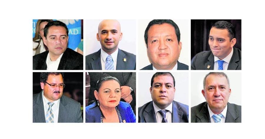 Los diputados oficialistas, seis disidentes de Líder y dos de la UNE, son señalados por tráfico de influencias y discriminación. (Foto Prensa Libre: Hemeroteca PL)